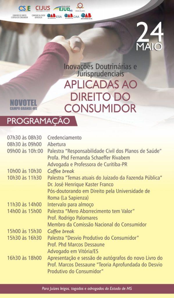 Justica Itinerante Calendario 2019 Campo Grande Ms.Evento Organizado Por Comissoes Da Oab Ms Sobre Direito Do