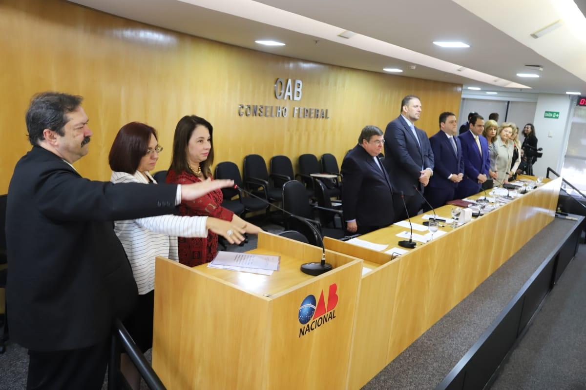 Marta Taques toma posse como Presidente do Tribunal de Ética e Disciplina da OAB Nacional