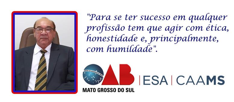 """Milton Melgaref da Costa: """"Ser advogado é muitas vezes ser também psicólogo, médico e confessor"""""""