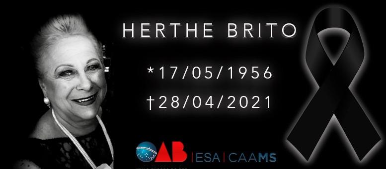 Herthe Brito: Sinônimo de alegria e resiliência para quem fica