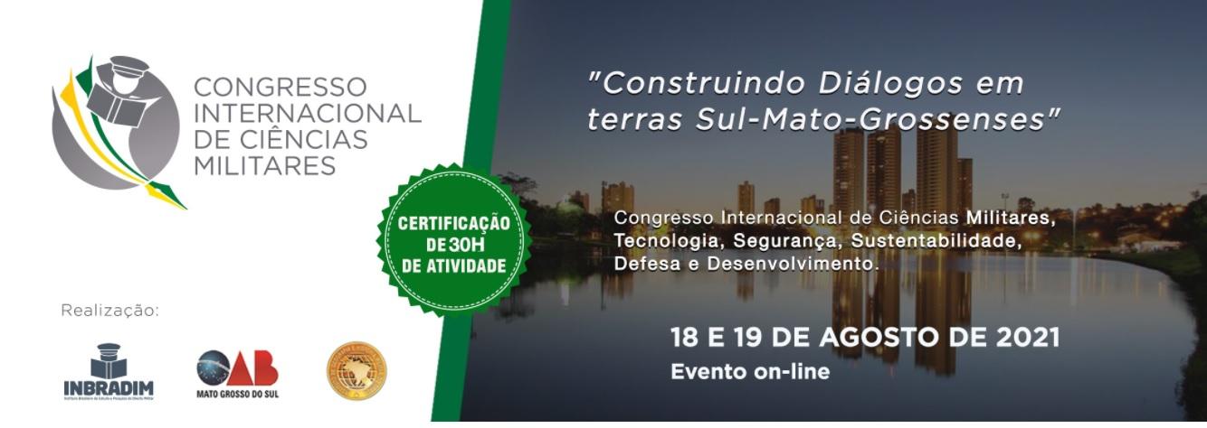 Inscrições abertas para o Congresso Internacional de Ciências Militares