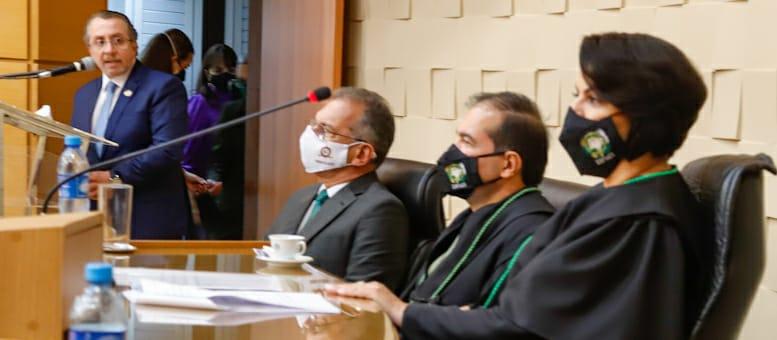 Presidente Mansour prestigia posse da Defensora Pública-Geral de MS Patrícia Cozzolino