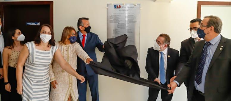 Conselho Federal e Diretorias da OAB/MS inauguram Escritório Compartilhado e espaço da CAAMS em Nova Andradina